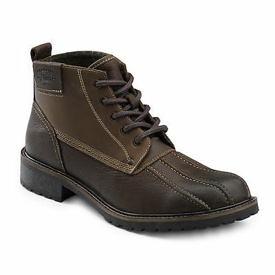 G.H. Bass & Co. Men's Brigg Genuine Leather Rugged Boot Brown/Brown