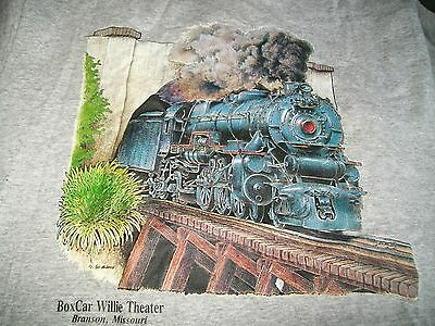 SIGNED, Boxcar Willie T-Shirt, Men's X-L, Excellent Cond.