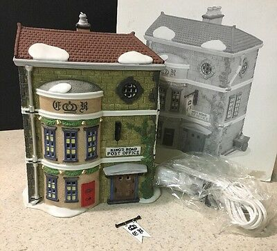 "Department 56 Dickens Village Series, ""Kings Road Post Office"" 1992 # 58017 MIB"