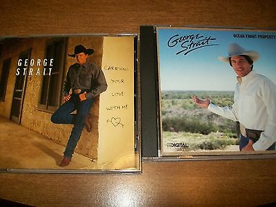 Lot Of 2, George Strait CD's, Very Good Condition