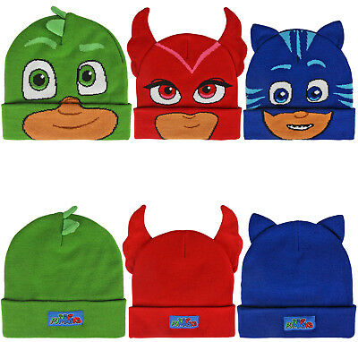 PJ Masks Hat Gekko Hat Owlette Hat PJ Masks Original Childrens Warm Hat PJ Masks