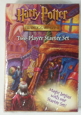 2001 Harry Potter Trading Card Game Two-Player Starter Set New Sealed WOC14032