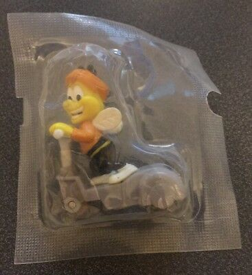 2001 HONEY NUT CHEERIOS BUZZ THE BEE SCOOTER FIGURE Cereal Box prize SEALED
