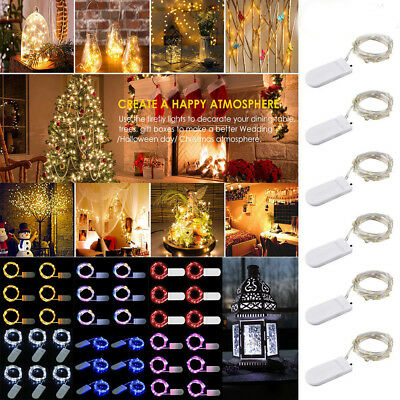 30LED Cell Battery Operated Micro Wire String Fairy light DIY Party Xmas Wedding