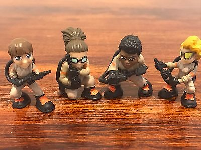 Girl Power! Abby, Patty, Erin, Jillian Lot of 4 Ghostbusters 1-inch Ecto Minis