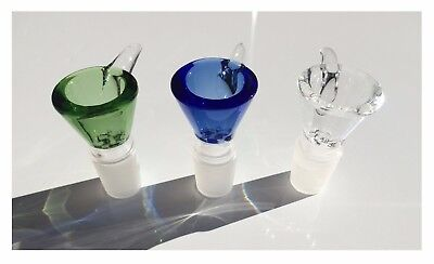 Glass Bowl Screen Thick borosilicate pull-out glass slide Bowl