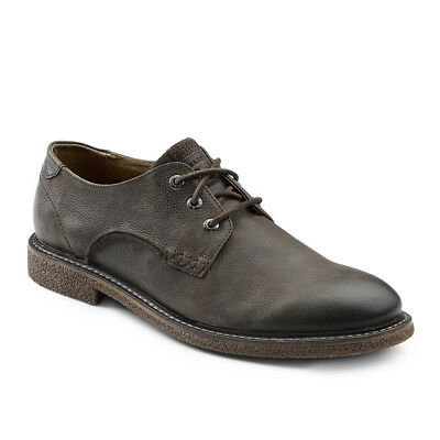 G.H. Bass & Co. Men's Bruno Genuine Leather Crepe Sole Oxford Shoe Chocolate