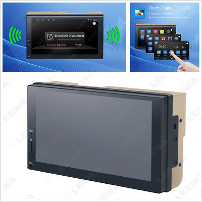 Android 6.0 2 DIN LCD Car GPS Stereo Navigator WIFI Bluetooth Multimedia Player