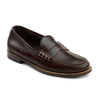 G.H. Bass & Co. Men's Weejun Larson Genuine Leather Penny Loafer Shoe Burgundy