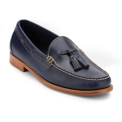G.H. Bass & Co. Men's Weejun Lexington Genuine Leather Penny Loafer Shoe Blue