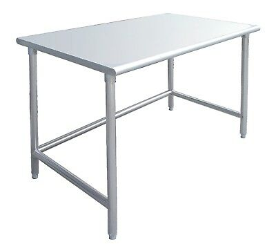 30 x 48 Stainless Steel Work Prep Table w/ Adjustable Crossbar