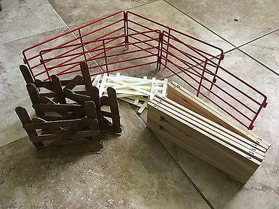 Lot Of Four NEW Breyer Horse Fence Corrals Out Of Box