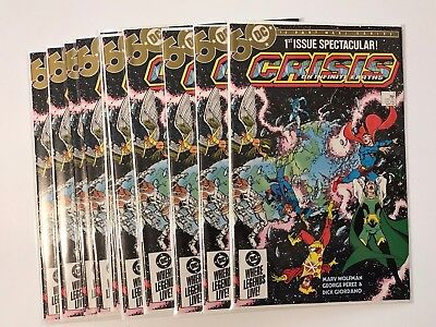 Crisis on Infinite Earths #1 - NM+ Lot Of 5