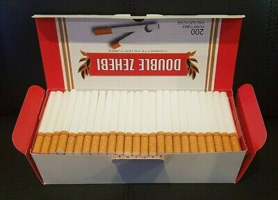 CLEARANCE 1600 RED KING SIZE ROLLO TUBE Cigarette Tobacco Rolling Filter Ventti