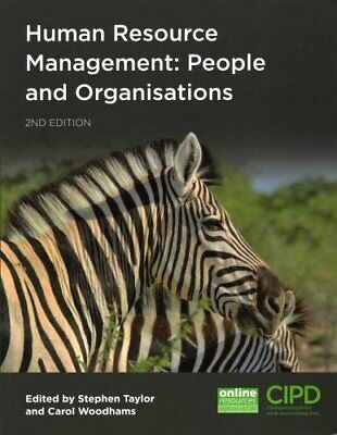 Human Resource Management People and Organisations 9781843984160