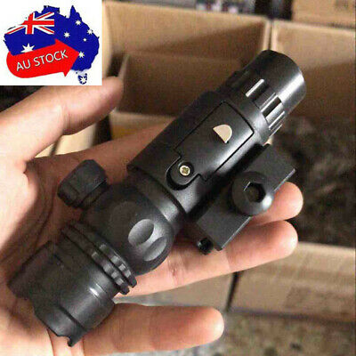 Red Laser Sight for Gel Ball Blaster Water Bullet M4 Toy Gun Outdoor Shooter