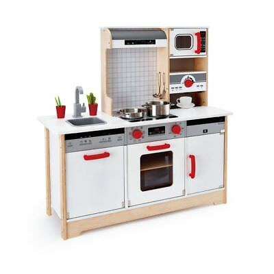 Hape All-in-1 Kitchen Kids Children Baby Wooden Cooking Toy Pretend Play E3145