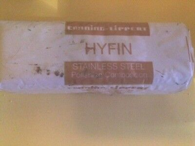 Hyfin White Polishing Compound  For A Great Finish On Stainless Steel