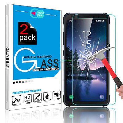 Premium 9H Tempered Glass Screen Protector HD Film For Samsung Galaxy S8 Active