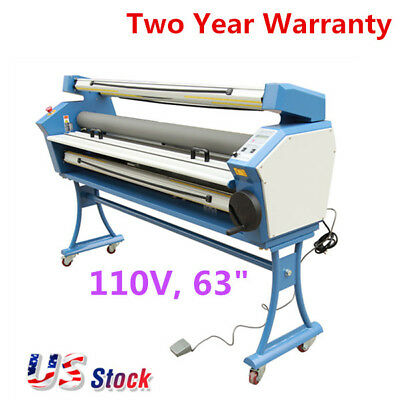 "US-63"" Entry Level Full-auto Roll to Roll Wide Format Cold Laminator, 110V 1400W"