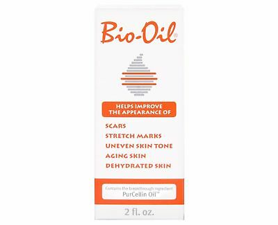 Bio-Oil for Skin Stretch Marks -cut marks-Uneven Skin Tone  PurCellin Oil-60 ml