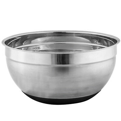 NEW Avanti Anti-Slip Stainless Steel Mixing Bowl 26cm