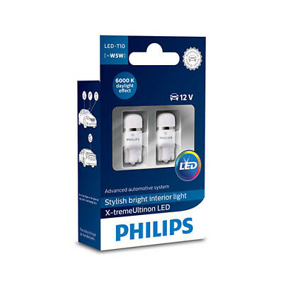 philips x treme ultinon led headlights h4 h7 hb3 hb4 h8 h11 h16 fittings eur 130 38. Black Bedroom Furniture Sets. Home Design Ideas