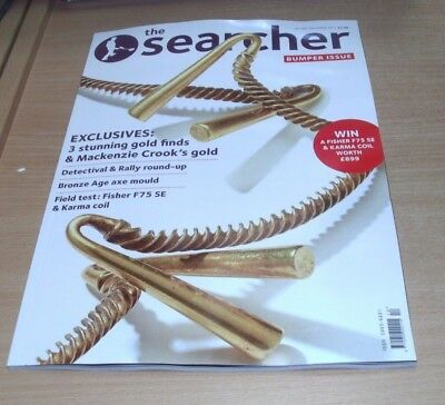 The Searcher magazine DEC 2017 Bumper Issue, Mackenzie Crook's Gold, Bronze Age