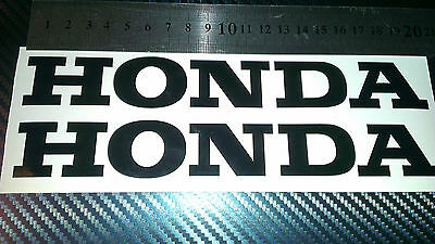 Honda Tank Fairing Bike Cbr Car Decal Sticker 200Mm X 28Mm