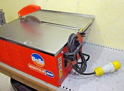 Belle Minitile 200 tile saw cutter tiling cutting 110v ceramic Heavy duty indust