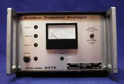Racal Dana 9475 LABORATORY rubidium PATTERN FREQUENCY/5019p