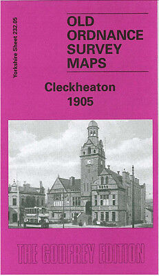 Old Ordnance Survey Map Cleckheaton 1905 West End Park Spen Upper The Prospect