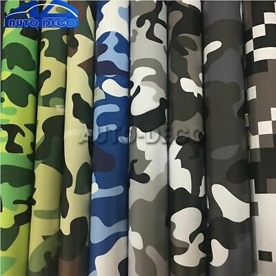 Over 10 Kinds Camo Vinyl Wrap Car Motorcycle Decal Mirror Phone Laptop
