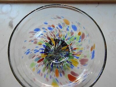 Hand Blown Stained Glass Piece  Available (3)