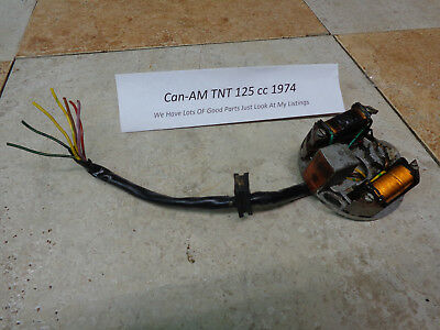 Can-AM TNT125 TNT175 TNT250 Stater/Lighting coil Vintage DualSport Bike Classic