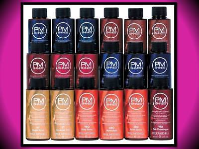 paul mitchell demi permanent 2 oz hydrating hair color pm shines 3rv bordeaux - Paul Mitchell Color Swatch Book