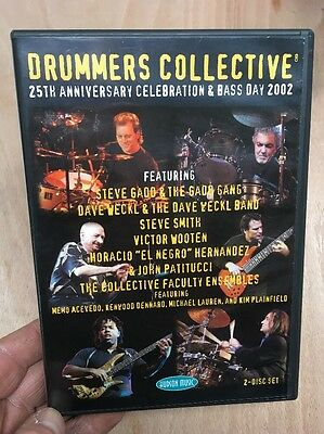 Drummers Collective:25th Anniversary-Steve Gadd Dave Weckl(2xDVD UK)Hudson Music