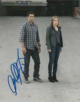 Cliff Curtis Fear the Walking Dead Autographed Signed 8x10 Photo COA