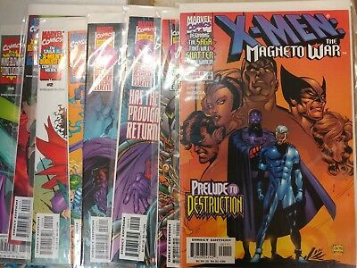 X-Men Comic Lot X-Men Dark Storm Rogue tons of issues NM Bagged and Boarded