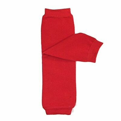 Wrapables Colorful Baby Leg Warmers, Solid Red