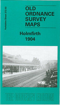 Old Ordnance Survey Map Holmfirth 1904 New Gate Lane End Victoria Sq Wooldale