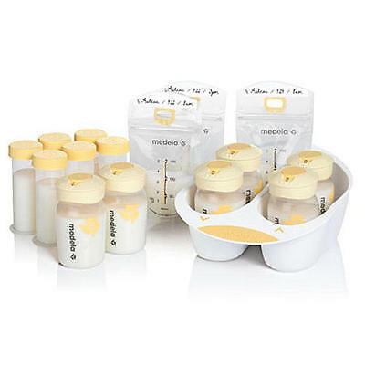 Medela Breastmilk Storage Solution Kit Bpa Free Store, Organize, & Protect, New!