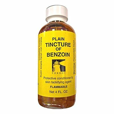 Torbot Plain Tincture of Benzoin, 4oz to Prep Skin And Protect. NEW