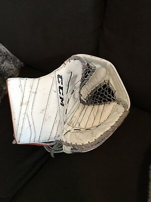 PRO RETURN STOCK Goalie CCM EFLEX 3 Glove Stolarz