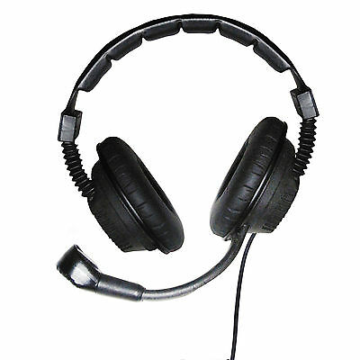 Maestro Dual Ear Pro' Headset for Tecpro, Altair & Clear-com Beltpacks