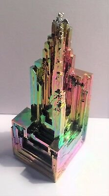 Spectacular 85.2 Gram 999.0 Pure BISMUTH CRYSTAL CASTLE (Great Investment)