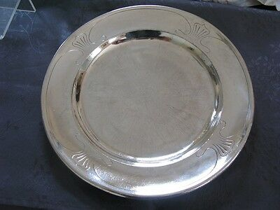 Silver Metal Christofle New Art Rare Dish Xix° Very Good Condition