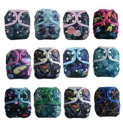 New Newborn Infant Baby Cloth Diaper cover, Reusable, Washable, Adjustable