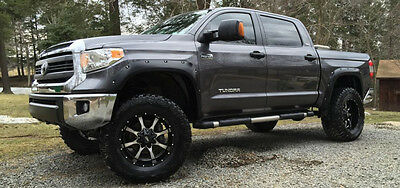 Crack-Resistant Toyota Tundra  2014-2017 Fender Flares Pocket Riveted Paintable