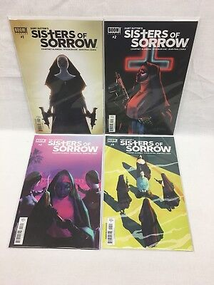 Boom Studios Sisters of Sorrow #1-4 by Kurt Sutter, Kim Hyeonjin(FREE SHIPPING)
